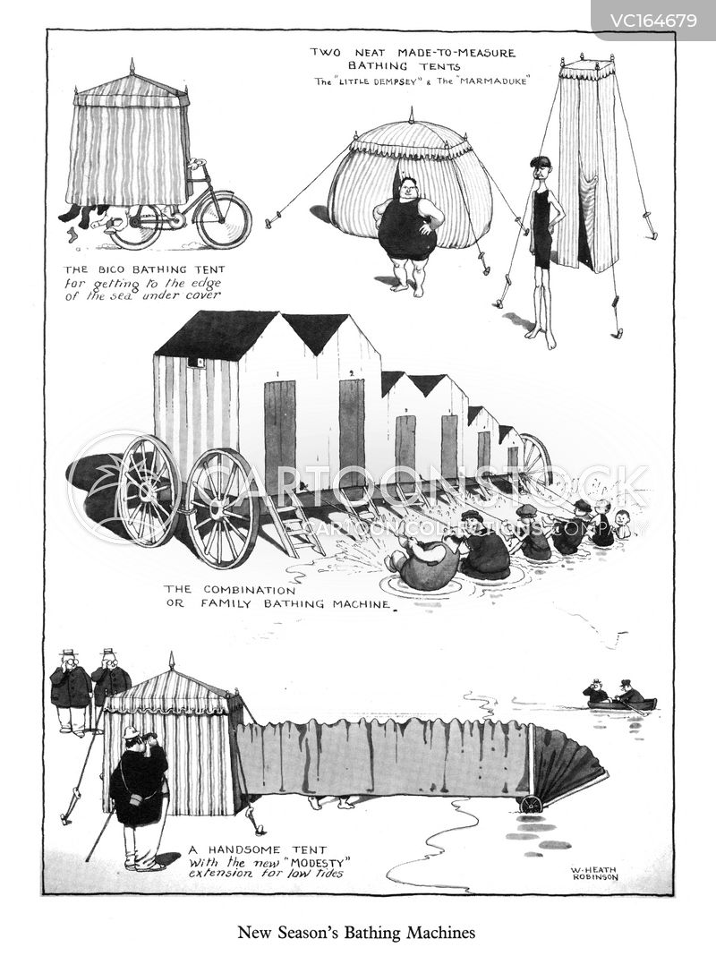 Bathing Huts cartoons, Bathing Huts cartoon, funny, Bathing Huts picture, Bathing Huts pictures, Bathing Huts image, Bathing Huts images, Bathing Huts illustration, Bathing Huts illustrations