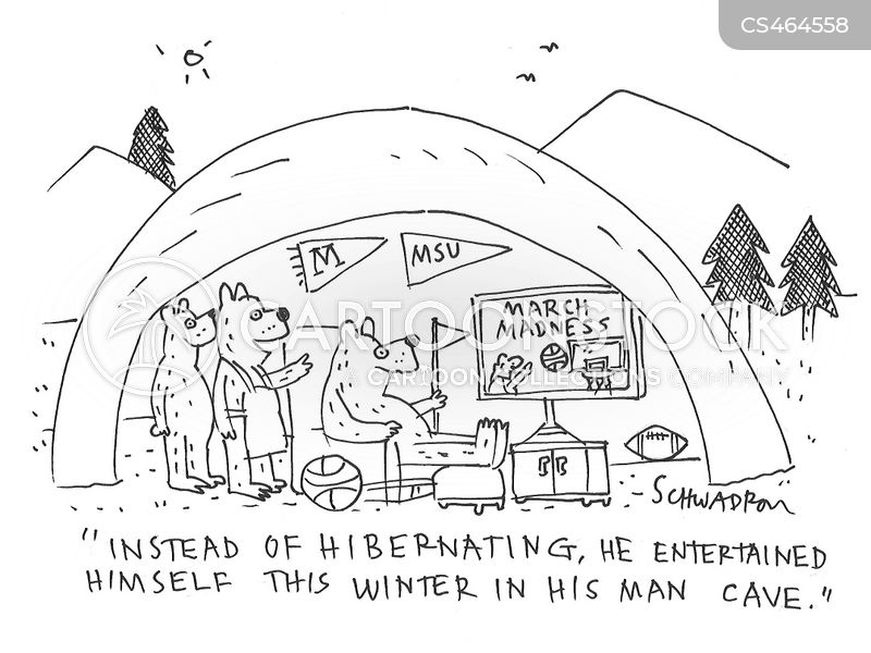 man-cave cartoon