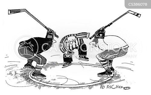 ice-hockey cartoon