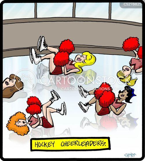 cheerleading cartoon