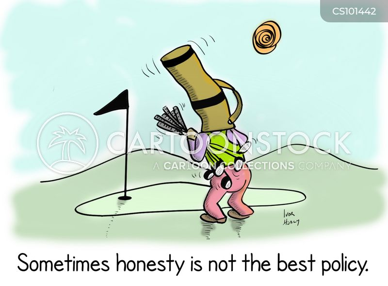 golf buddies cartoon