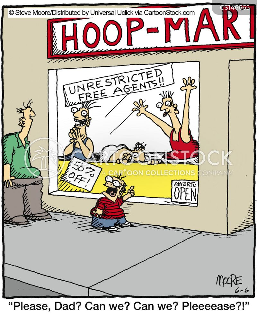sports agent cartoon