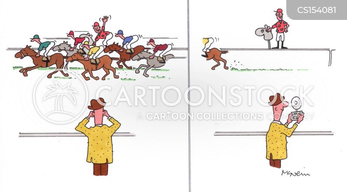 hobby horse cartoon