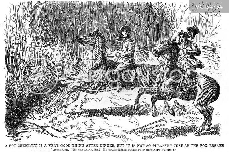 Fox Hunt cartoons, Fox Hunt cartoon, funny, Fox Hunt picture, Fox Hunt pictures, Fox Hunt image, Fox Hunt images, Fox Hunt illustration, Fox Hunt illustrations