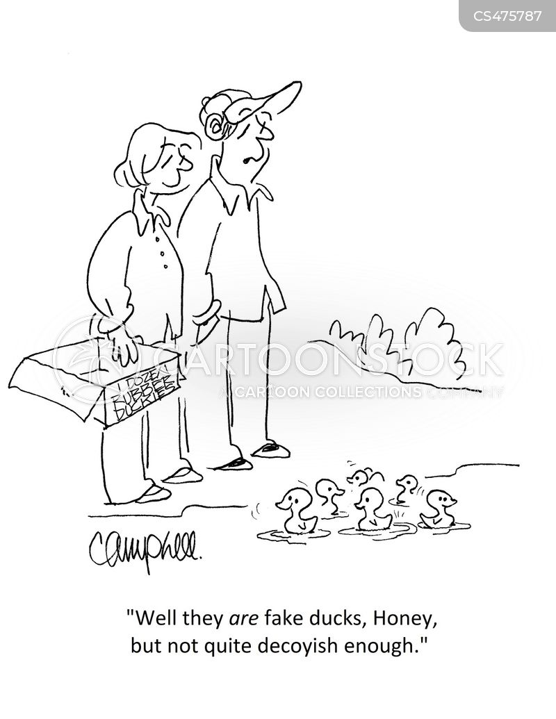 hunting ducks cartoon