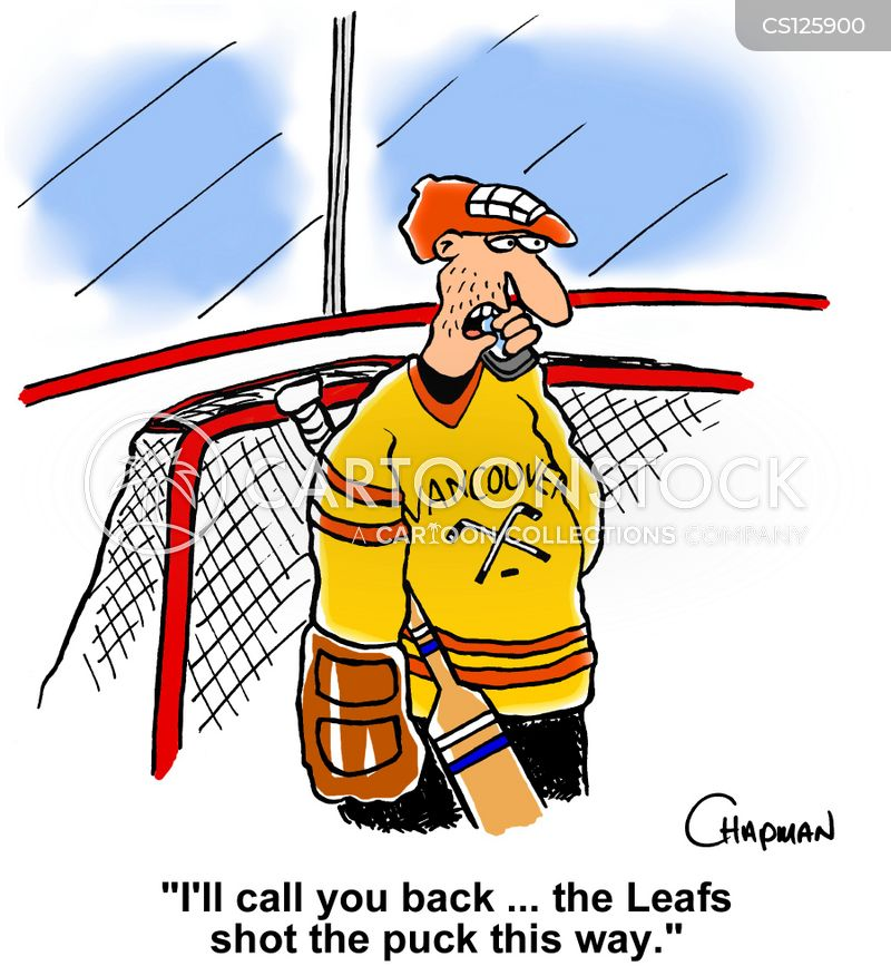 hockey goalie cartoons and comics funny pictures from