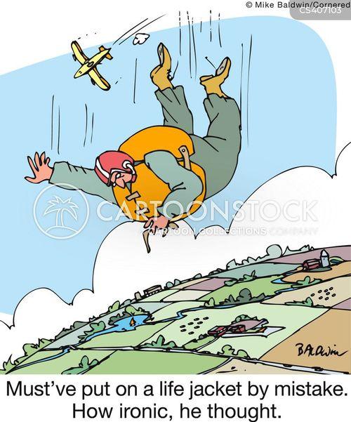 life jackets cartoon