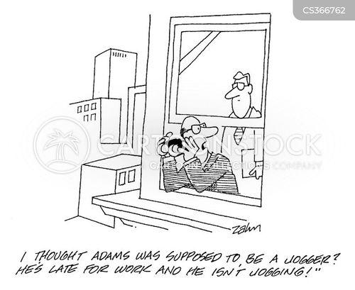 observed cartoon