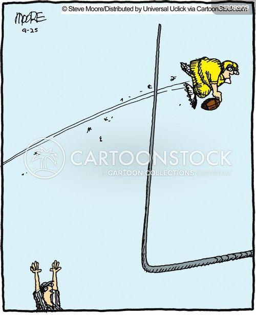 field goals cartoon