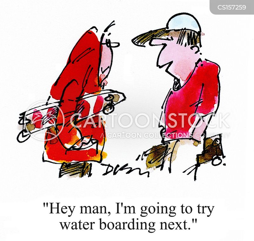 water board cartoon