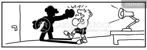 inner conflict cartoon