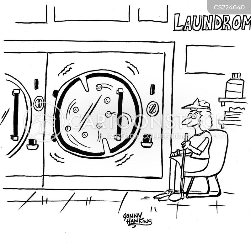 launderer cartoon