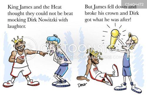 national basketball association cartoon