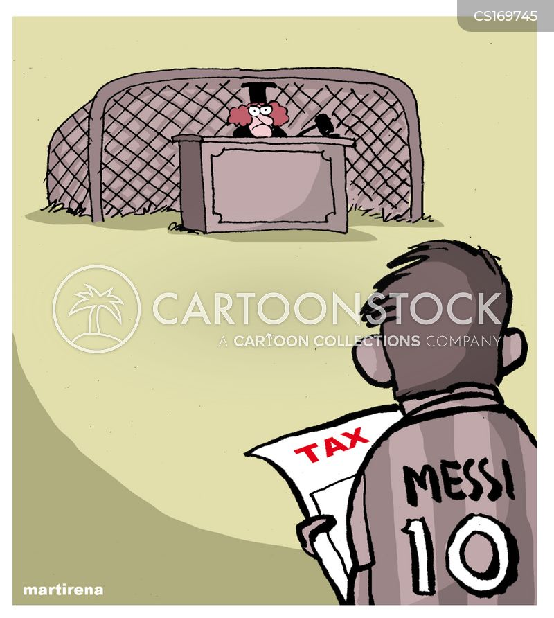 barcelona cartoon