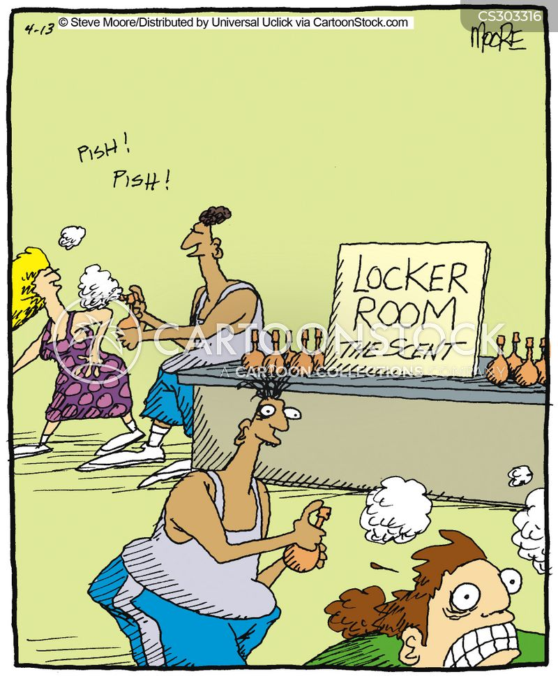 Locker Room cartoon 5 of 22