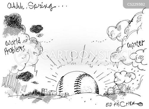 sports nut cartoon
