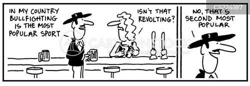 toureiro cartoon