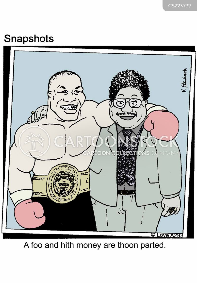 promoter cartoon