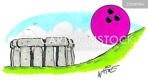 ancient monument cartoon