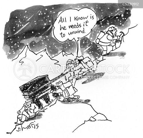 peak cartoon