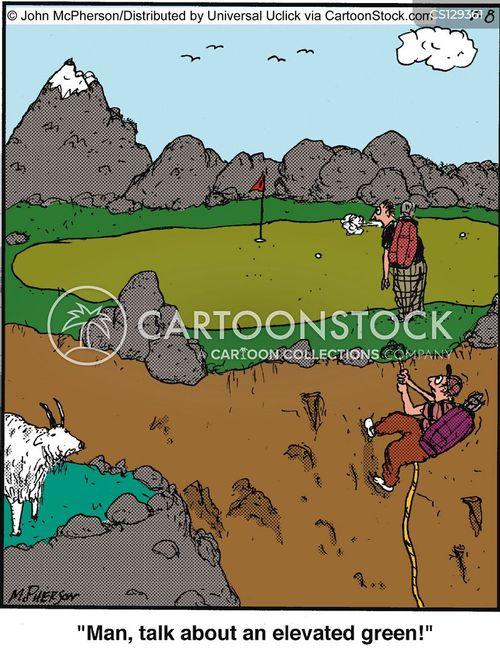 elevated cartoon