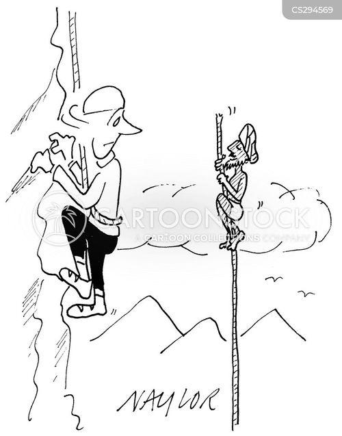 indian rope trick cartoon