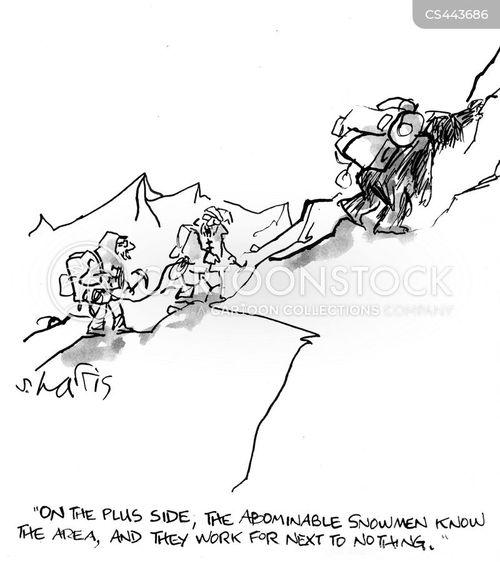 sasquatches cartoon