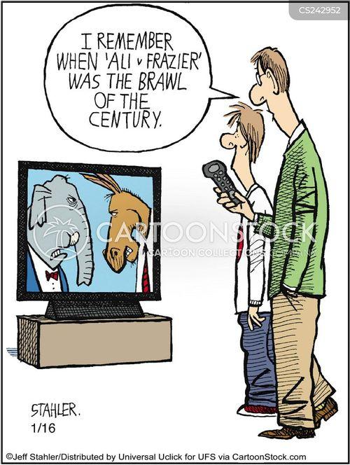 pugilist cartoon