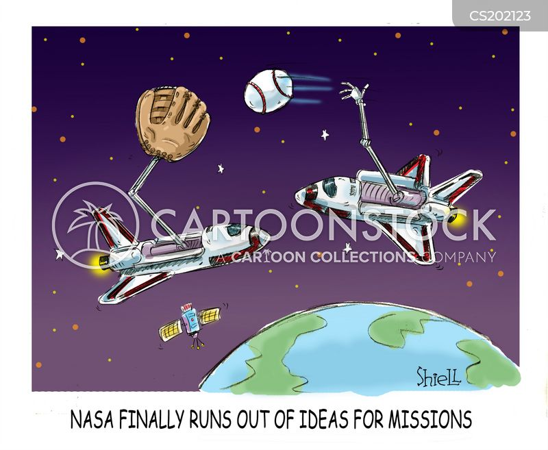 Space Shuttle Cartoons and Comics - funny pictures from ...