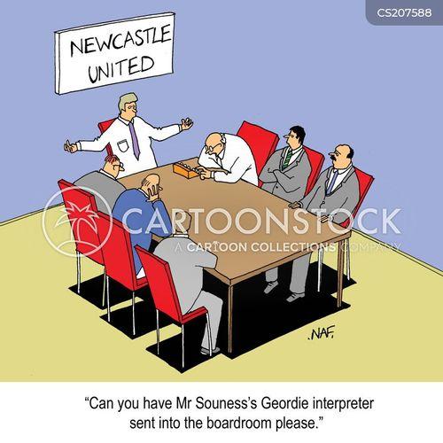 geordie cartoon