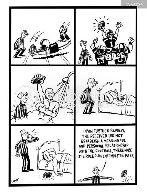 receivers cartoon