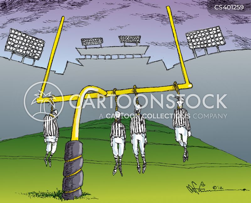 referees association cartoon