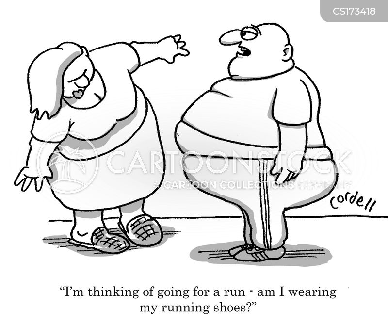weight issues cartoon