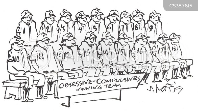 obsessive compulsive disorders cartoon