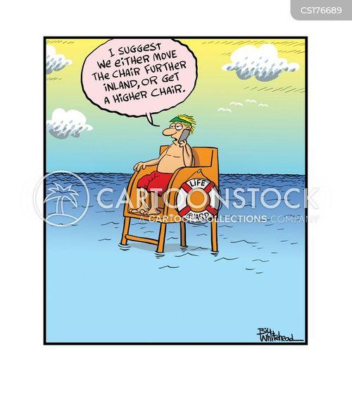 lifeguards cartoon