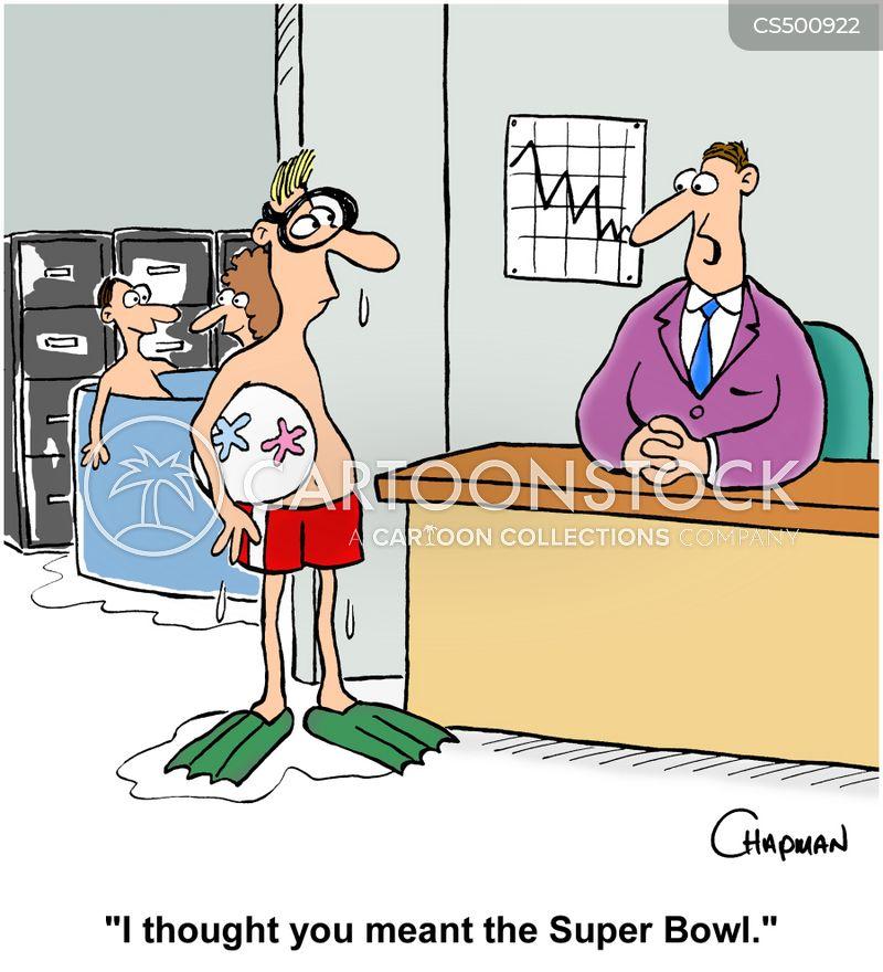 office pool cartoon