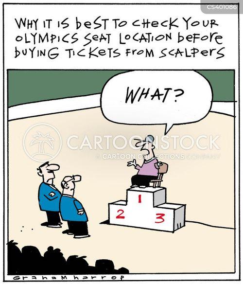 scalpers cartoon