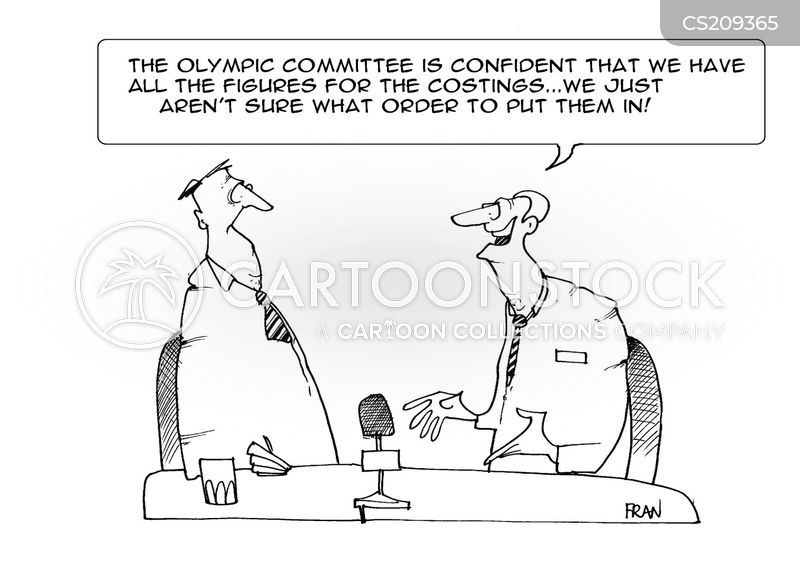 olympic committees cartoon