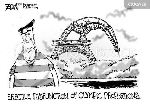 olympic game cartoon