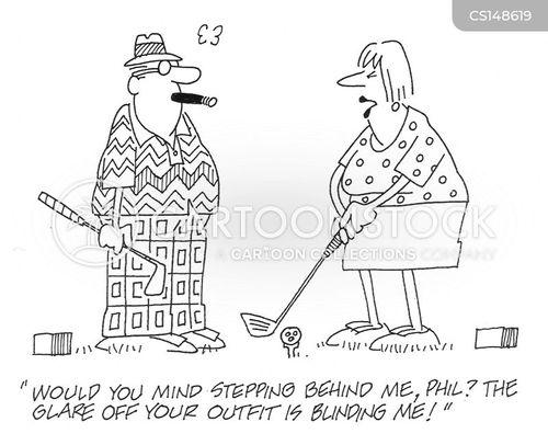 gaudy cartoon