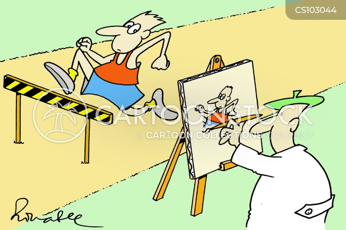 photo finish cartoon