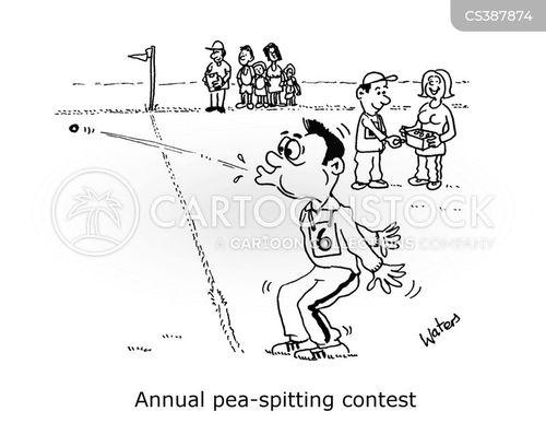 sports days cartoon