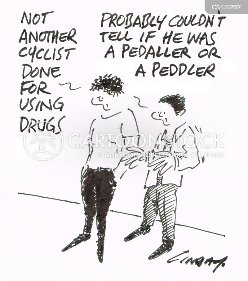 pedallers cartoon