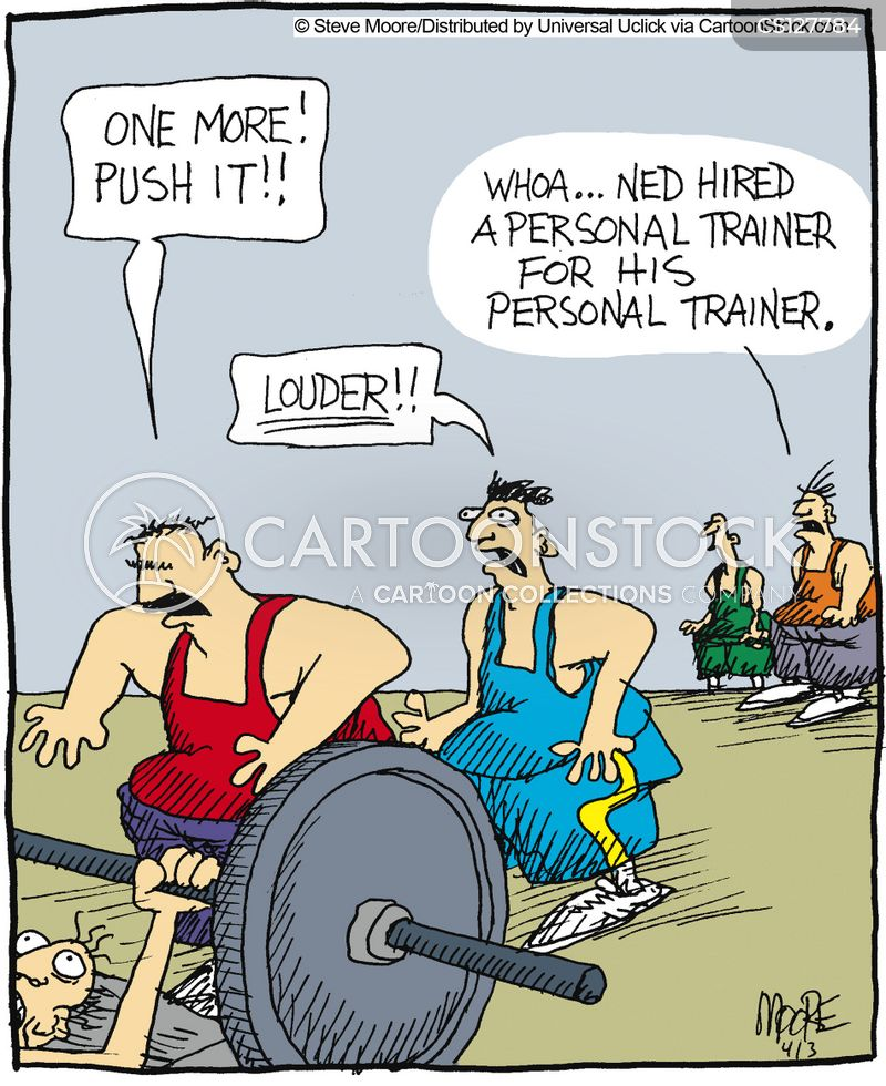 fitter cartoon