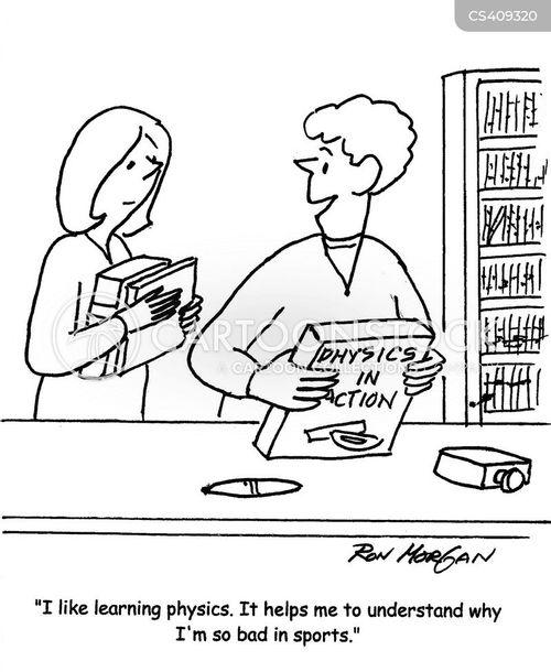sporty cartoon