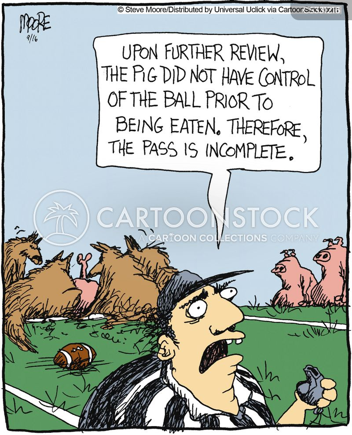 american football player cartoon