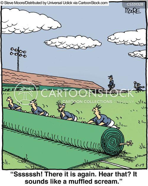 sports official cartoon