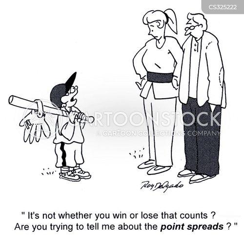 scoreboard cartoon