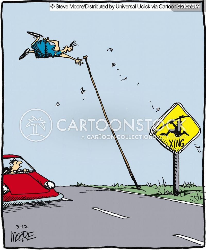warned cartoon