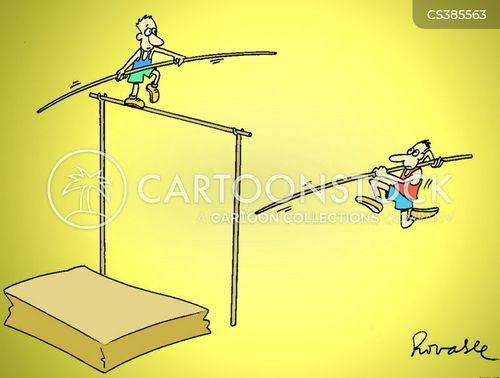tight ropes cartoon